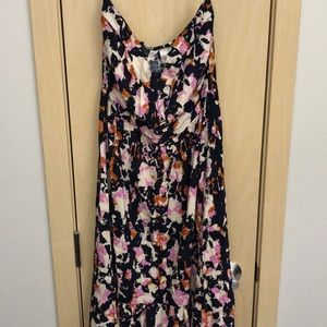 Adorable high low strapless dress!